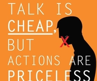 Actions are priceless