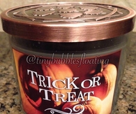Trick or treat scented candle