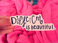 different is beutiful