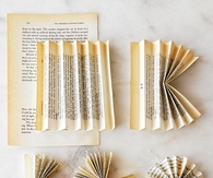 Roses Made from Vintage Book Pages