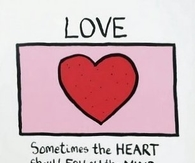 The heart should follow the mind