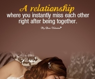 A relationship