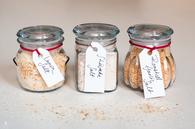 Homemade flavored salt
