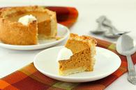 Mini deep dish pumpkin pies