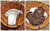 Diaper Gardening Idea