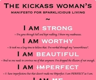 The Kickass Woman's Manifesto for Sparklicious Living