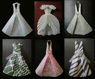Fashion Dresses Made From Paper