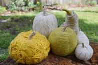 Yarn, Pumpkins & Gourds