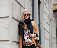 Pumpkin Blazer with Sparkling Top, Leggings & Boots
