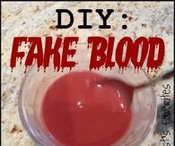 DIY Fake Blood