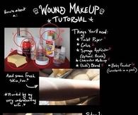 Wound Makeup Tutorial