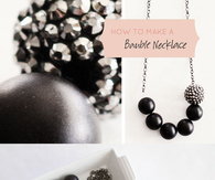 DIY Bauble Necklace
