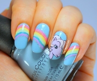 My little pony nails