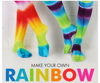 DIY Rainbow Socks