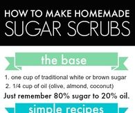 DIY Homemade Sugar Scrubs