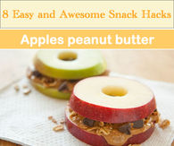 8 Easy and Awesome Snack hacks