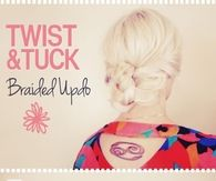 DIY Twist and Tuck Braided Updo