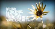 Behind everything beautiful