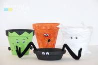 Halloween Terra Pot Craft