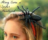 Along Came a Spider Headband