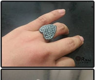 DIY Chinese Knot Heart Ring