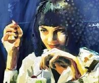 Pulp fiction ..Uma Thurman