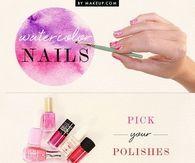 DIY Watercolor Nails