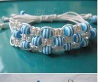 DIY Multi-row Shambala Bracelet