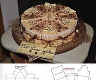 DIY Cake Gift Box Template