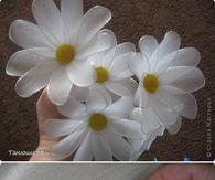 DIY Wire Fabric Daisy