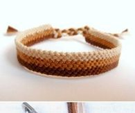 DIY Easy Weave Bracelet