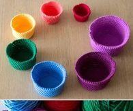 DIY Beautiful Crochet Cups