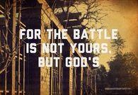 Gods batle
