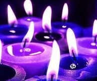 Ghastly candles