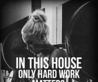 Only hard work matters