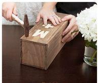 DIY Wedding Ceremony Wine Box