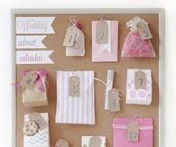 DIY Wedding Advent Calendar