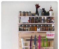 Kitchen shelf for Spices and Kitchenware