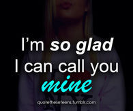 So glad i can call you mind