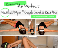 15 minute ab workout