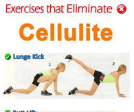 Exercises that eliminte cellulit