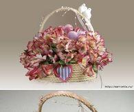 DIY Rope Gift Basket