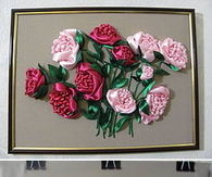 DIY Embroidery Roses
