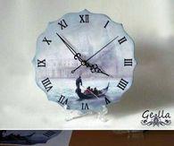 DIY Clock Decoupage