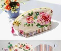 DIY Beautiful Makeup Pouch