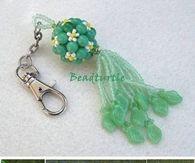 DIY Key Chain Beads Charm