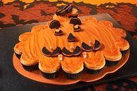 Pumpkin Pull-Apart Cake