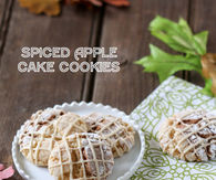 Spiced Apple Cake Cookies