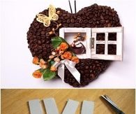 How To Make A Decorative Heart Out Of Coffee
