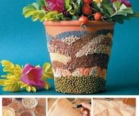 How To Make A Decorative Flower Pot